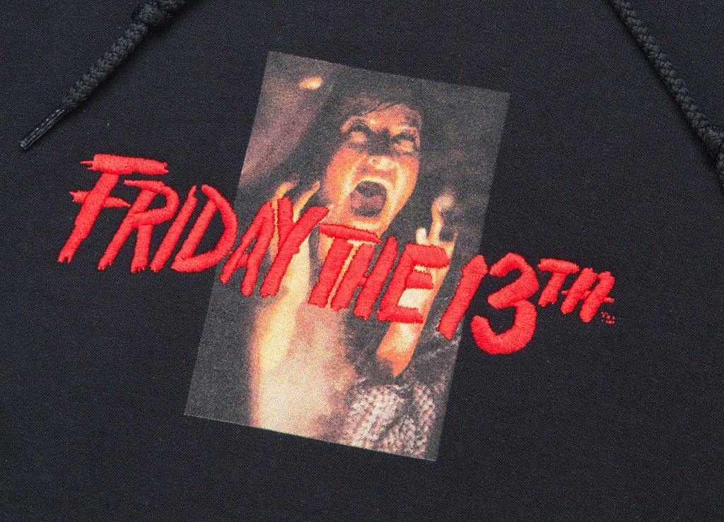 The Hundreds x Friday The 13th Doomed Pullover Hoody - Black