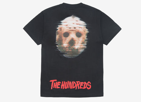 The Hundreds x Friday The 13th Mask T Shirt - Black