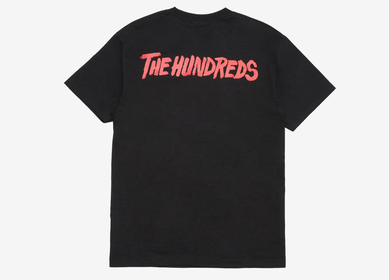 The Hundreds x Friday The 13th Poster T Shirt - Black