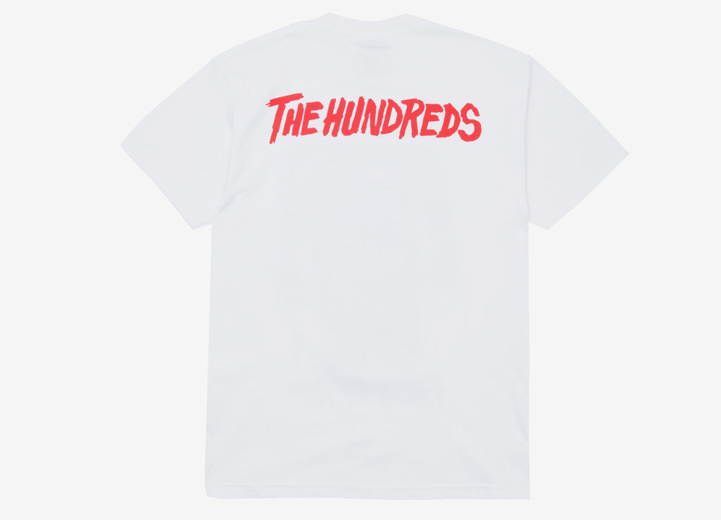 The Hundreds x Friday The 13th Poster T Shirt - White