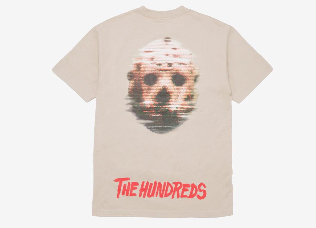 The Hundreds x Friday The 13th Mask T Shirt - Sand