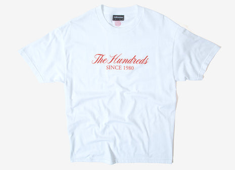 The Hundreds Rich Logo T Shirt - White