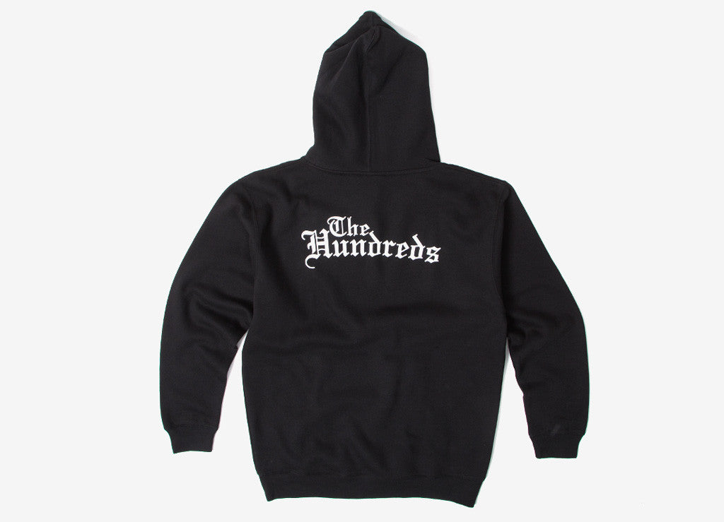 The Hundreds Rose English Pullover Hoody - Black