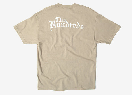 The Hundreds Rose English T Shirt - Sand
