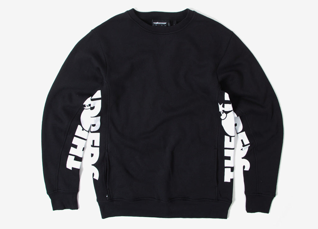The Hundreds Sidewinder Crewneck Sweatshirt - Black