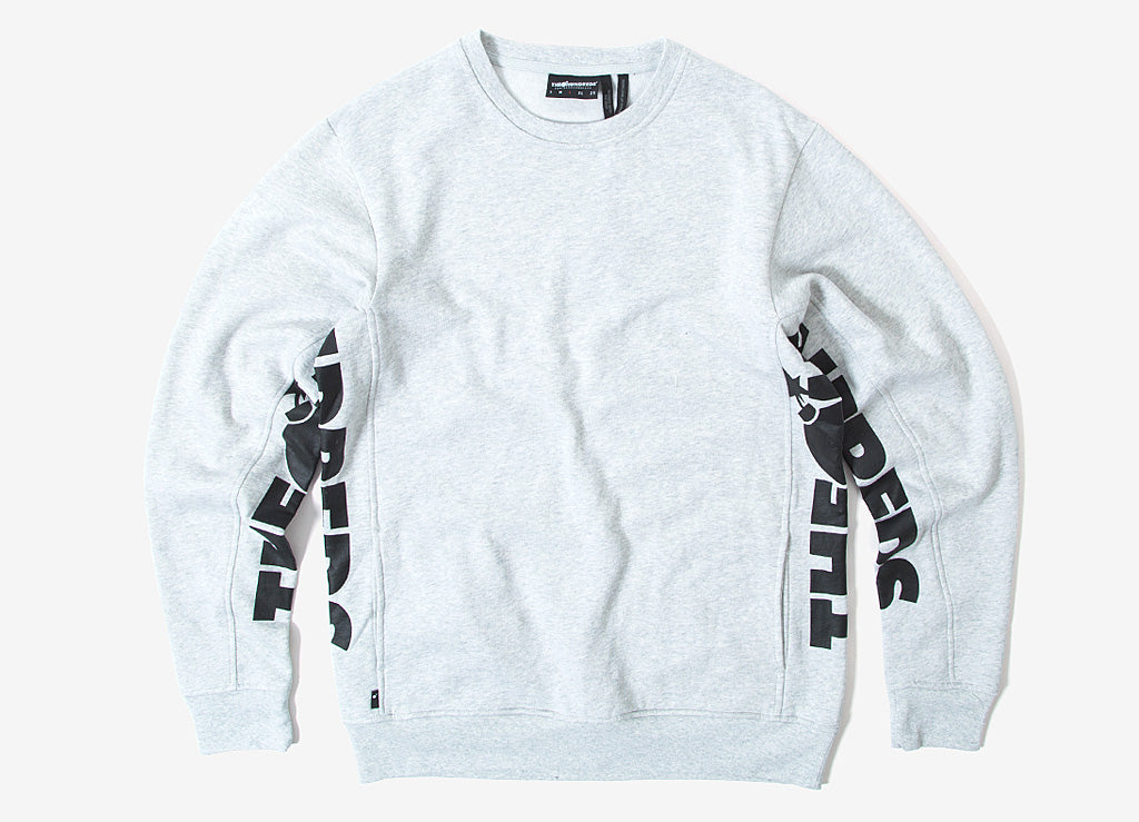 The Hundreds Sidewinder Crewneck Sweatshirt - Ash Heather