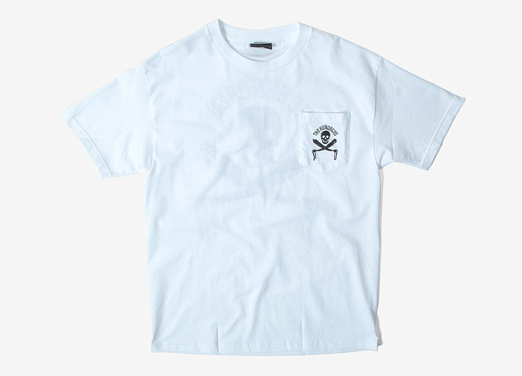 The Hundreds Skulls & Ties T Shirt - White