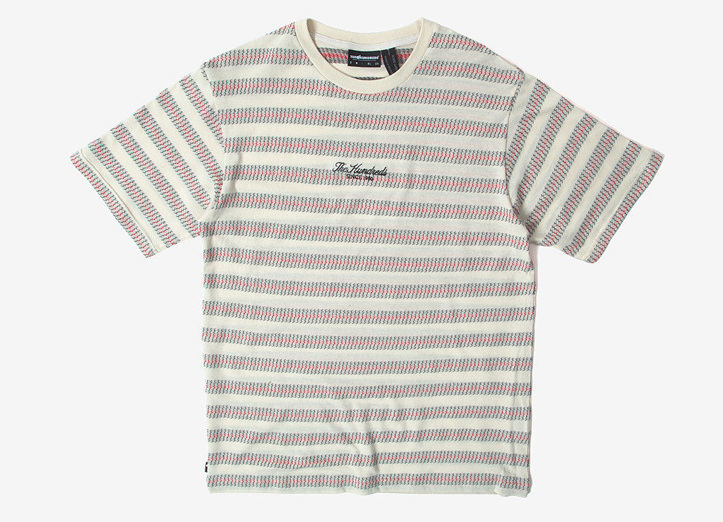 The Hundreds Tack T Shirt - Off White