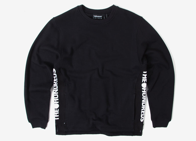 The Hundreds Valley Crewneck Sweatshirt - Black