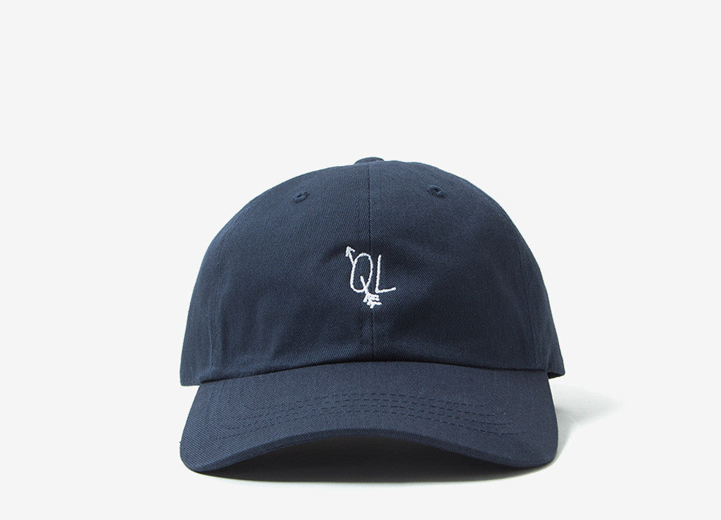 The Quiet Life Arrow Dad Hat - Navy