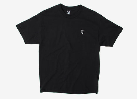 The Quiet Life Arrow T Shirt - Black