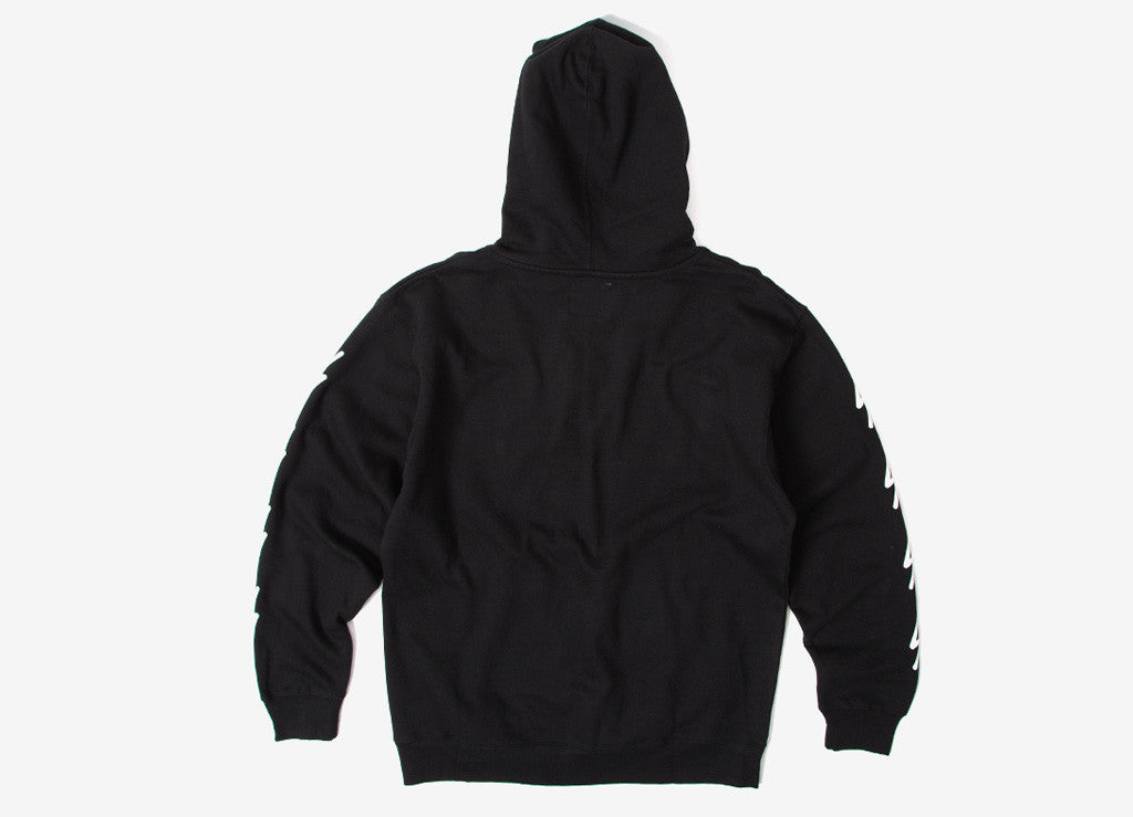 The Quiet Life Bolt Pullover Hoody - Black