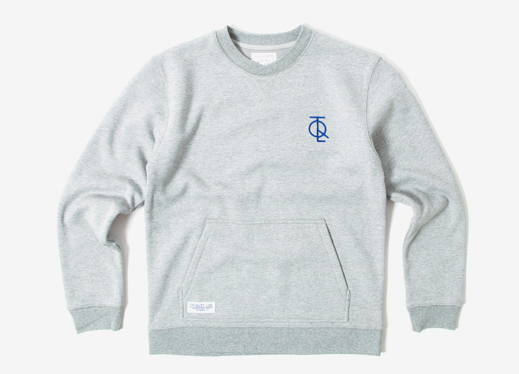 The Quiet Life Jump Crewneck Sweatshirt - Heather Grey