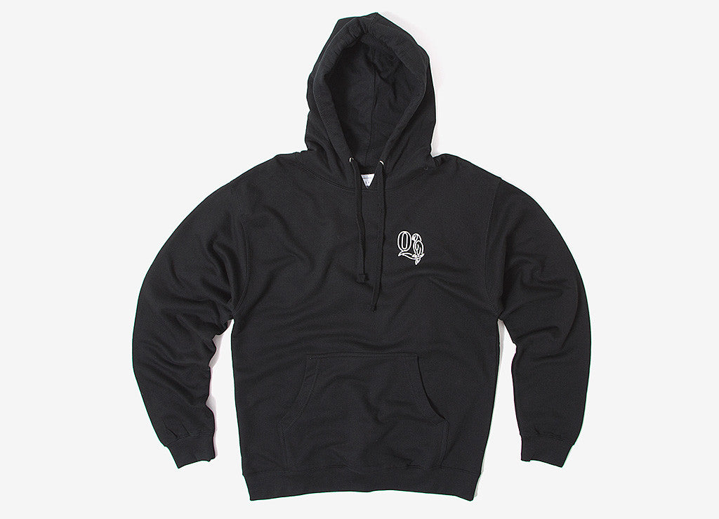 The Quiet Life Macaw Pullover Hoody - Black