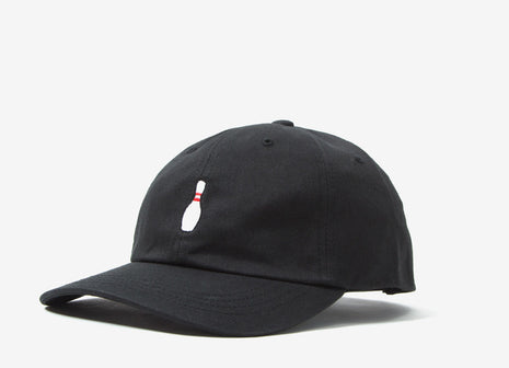 The Quiet Life Bowling Pin Dad Hat - Black