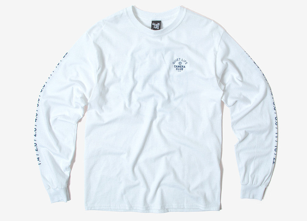The Quiet Life Wont Stop Long Sleeve T Shirt - White