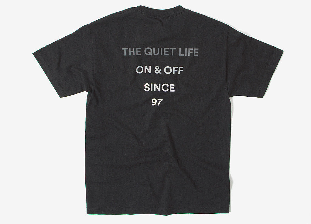 The Quiet Life Pyramid T Shirt - Black