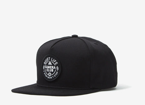 The Quiet Life Won't Stop Snapback Cap - Black