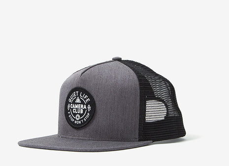 The Quiet Life Won't Stop Trucker Cap - Heather Grey