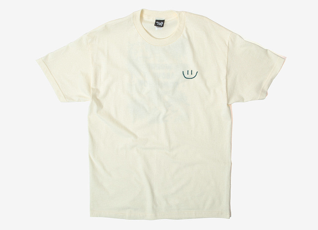 The Quiet Life Worry T Shirt - Natural