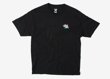 The Quiet Life Ziggity T Shirt - Black