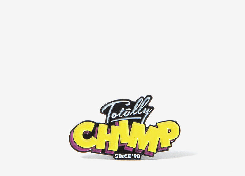 Chimp Totally Enamel Pin Badge - Allover