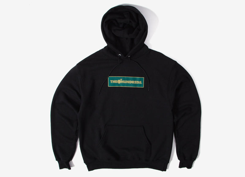 The Hundreds Corners Pullover Hoody - Black