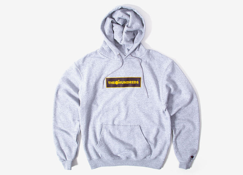 The Hundreds Corners Pullover Hoody - Athletic Heather