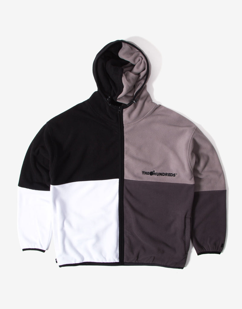 The Hundreds Alpine Zip Up Hoody - Black
