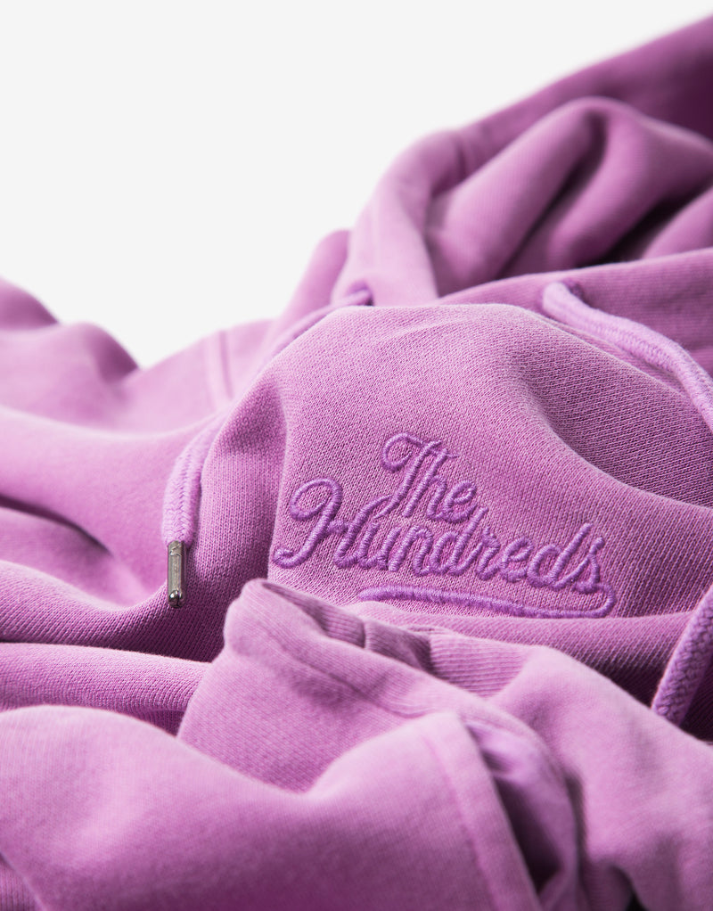 The Hundreds Blazer Hoody - Magenta