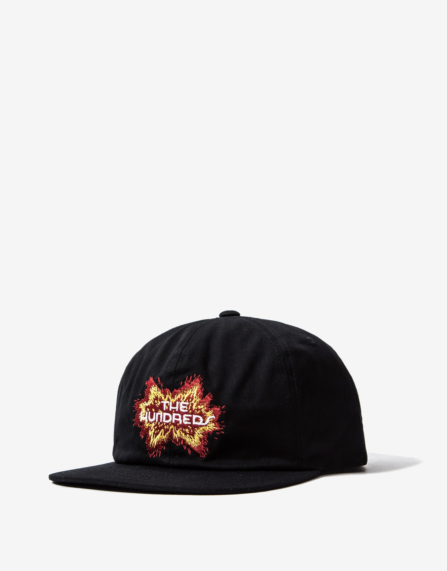 The Hundreds Boom Snapback - Black