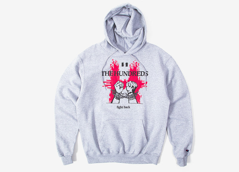 The Hundreds Break Hoody - Athletic Heather