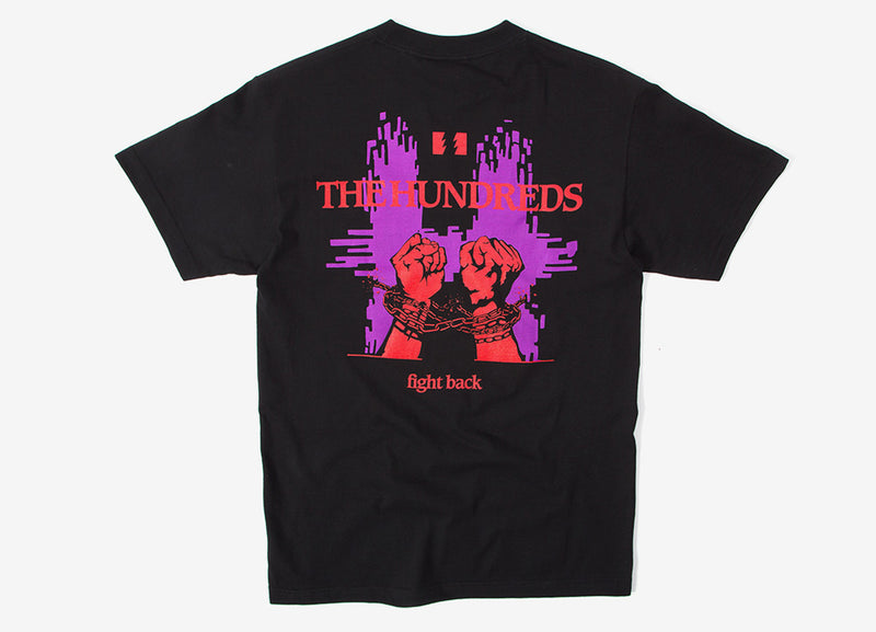 The Hundreds Break T Shirt - Black