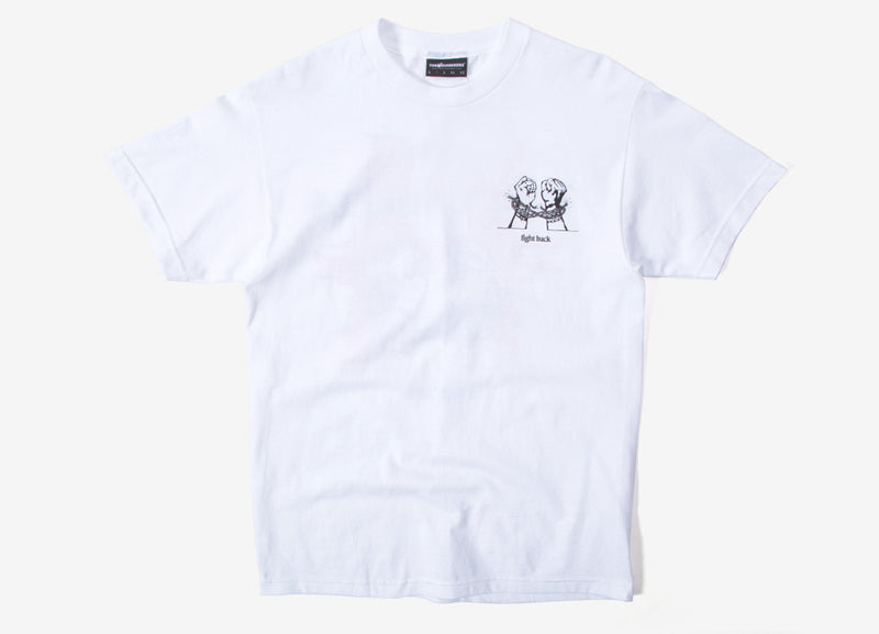 The Hundreds Break T Shirt - White