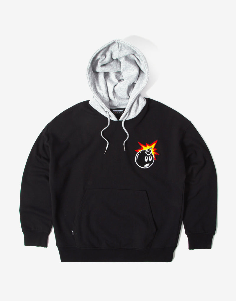 The Hundreds Campus Hoody - Black