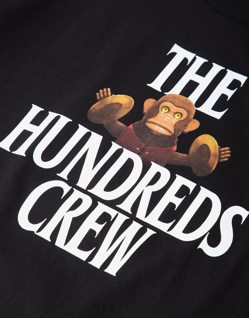 The Hundreds Chant T Shirt - Black