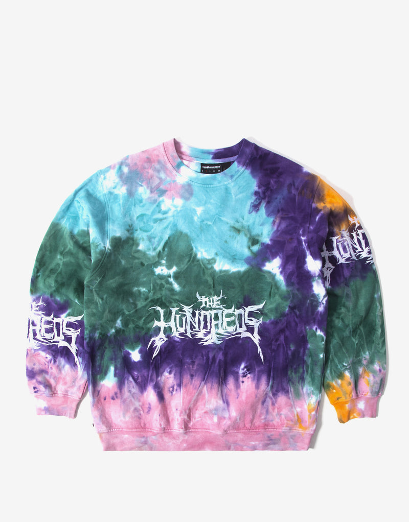 The Hundreds Cloud Crewneck - Multi