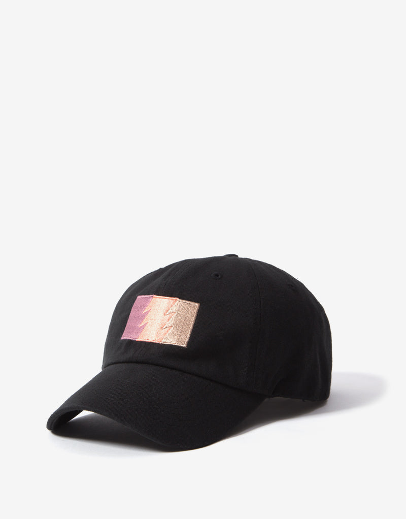 The Hundreds Combo Dad Hat - Black