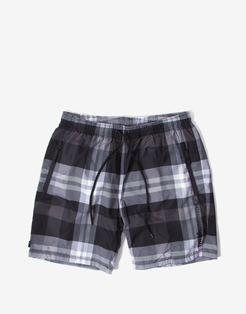 The Hundreds Cove Hybrid Shorts - Black