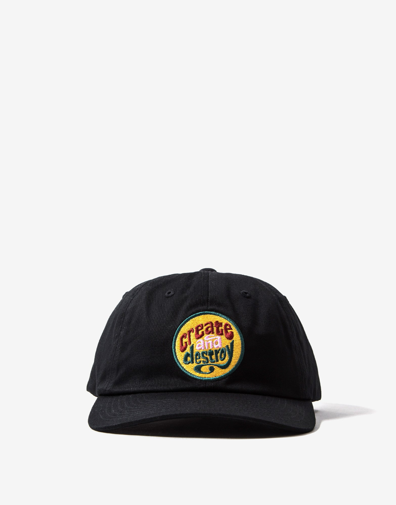 The Hundreds Create & Destroy Dad Cap - Black