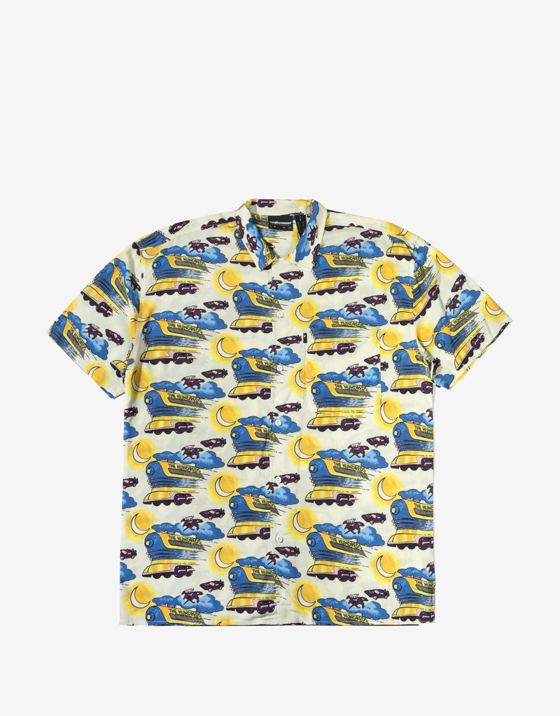 The Hundreds Doc's SS Hawaiian Shirt - Yellow