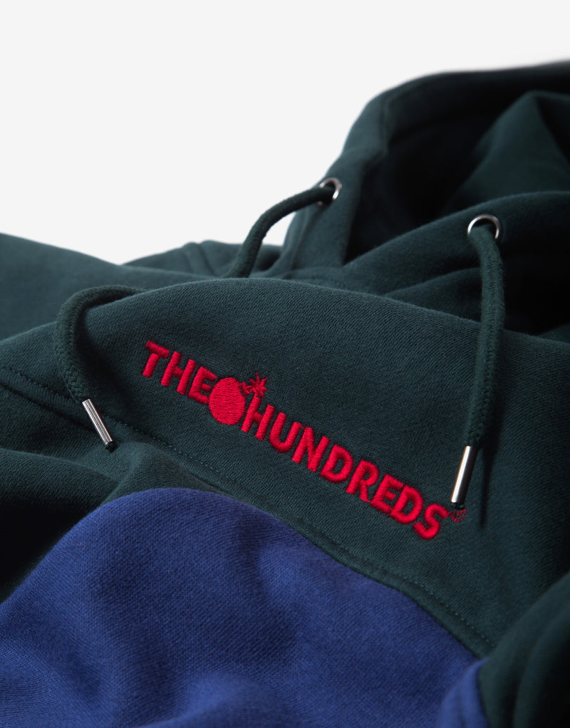 The Hundreds Emblem Hoody - Deep Emerald