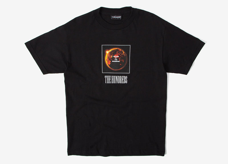 The Hundreds End T Shirt - Black