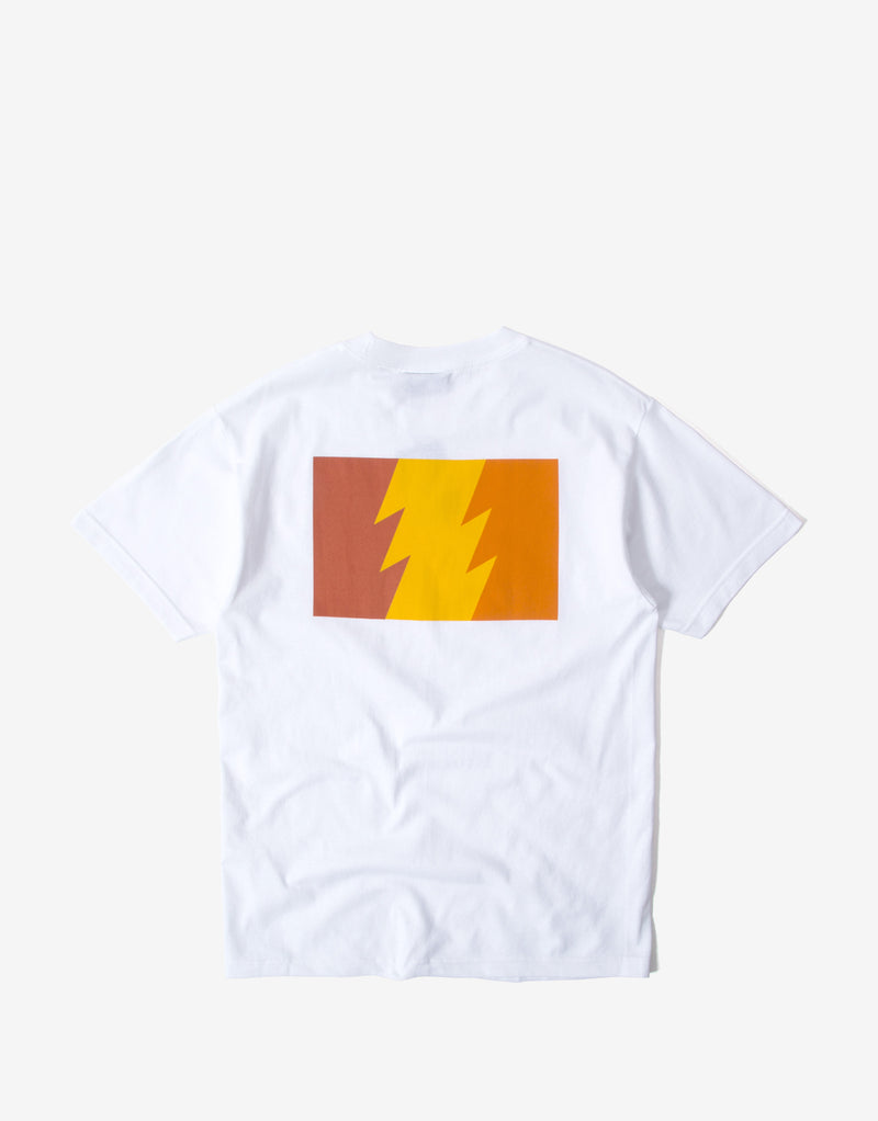 The Hundreds Flag Colour T Shirt - White