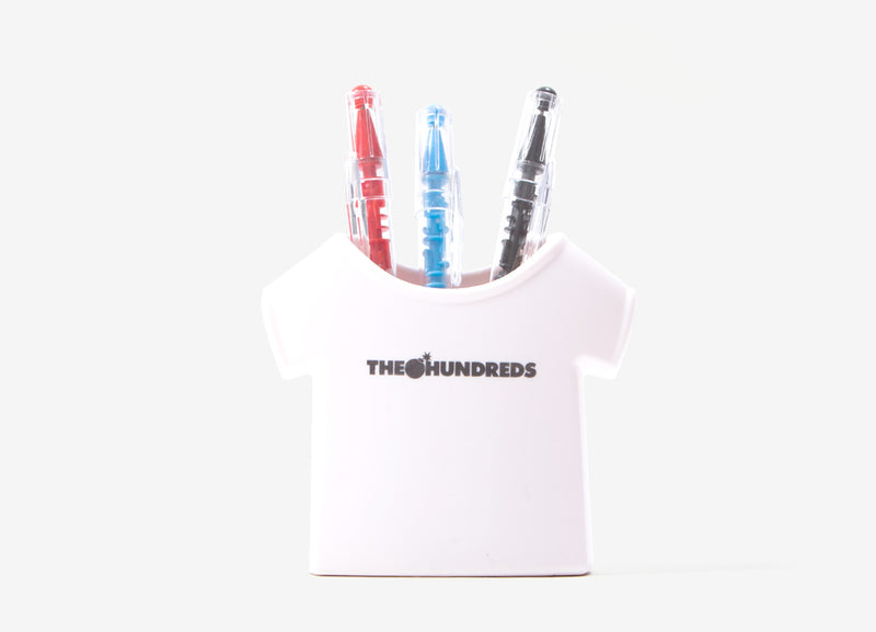 The Hundreds Forever Pen Holder - White