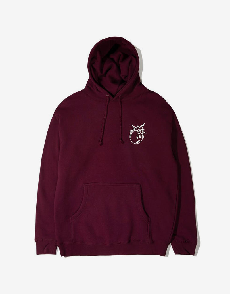 The Hundreds Forever Simple Adam Hoody - Burgundy