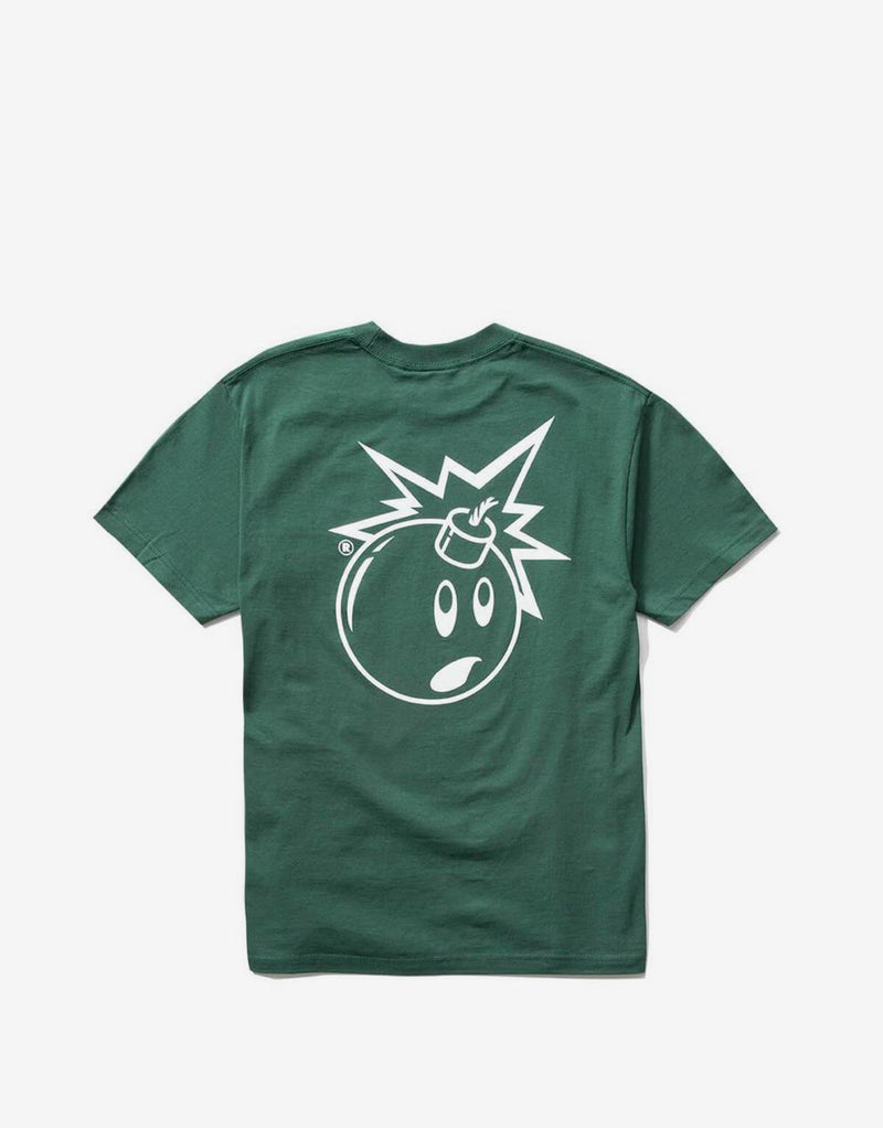 The Hundreds Forever Simple Adam T Shirt - Forest