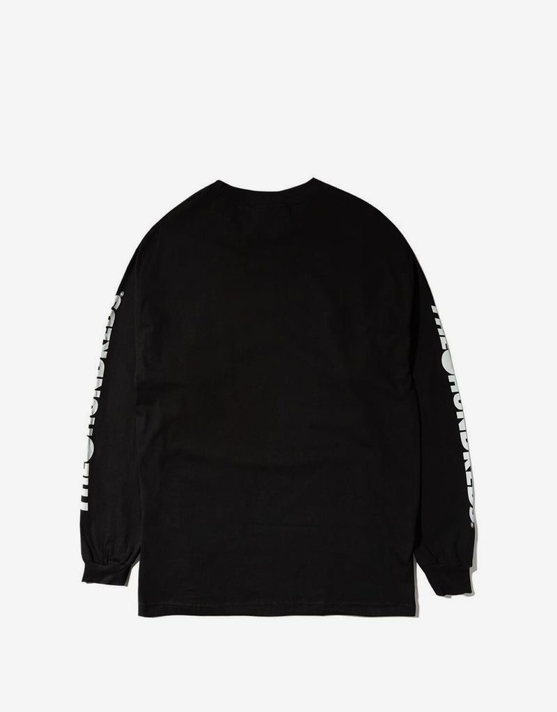 The Hundreds Forever Solid Bomb Crest Long Sleeve T Shirt - Black