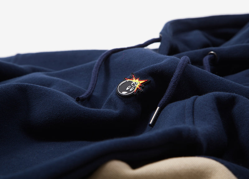 The Hundreds Hollow Pullover - Navy