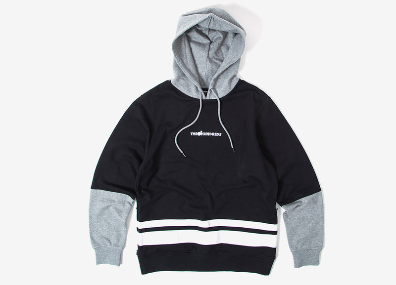 The Hundreds Crane Pullover Hoody - Black